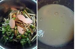 ごぼうと魚肉ソーセージのお好み焼き1.JPG