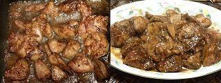 鶏レバーの甘辛炒め煮5.JPG